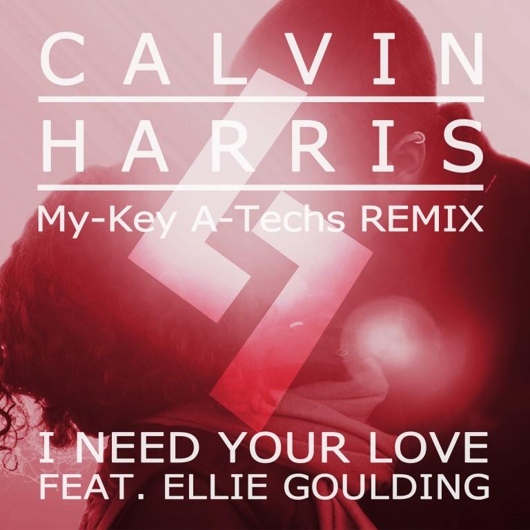 Скачать Песню Calvin Harris feat Ellie Goulding - I Need